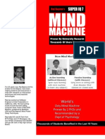 Mind Machine Brochure
