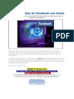 Facebook 83 Mil Cuentas Son Falsas Muchos Multiperfiles