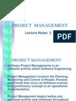 Project Managemen Concept