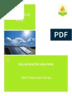 catalogue solar water heaters