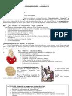 5° - LA ORGANIZACION DE LA CONQUISTA