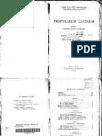 Besselaar Propylaeum Latinum 1