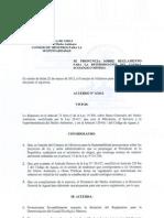 Reglamento Caudal Ecológico 2012