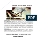 Grammatical_Psycho_Jorge_Aristizabal_Gáfaro_Resumen