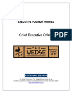 CEO Profile - The Wedge Natural Foods Co-op - KeyStone Search