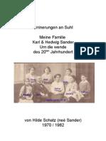 Suhl - Sander familie Errinerungen De