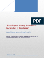 History and Content Tourism Law of Bangladesh