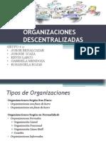 ORGANIZACIONES DESCENTRALIZADAS (1)