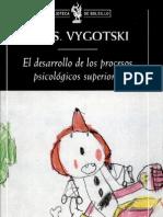 vygotsky-el desarrollo de los procesos psicológicos superiores