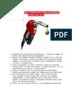 Los Mejores Consejos Para Ahorrar Gasolina 2012