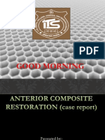 Case Presentation on anterior composite restoration