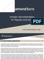 Diamond Bank - IR Presentation H1 2012 Results