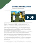 Los_Simpson_llegan_a_su_capítulo_500