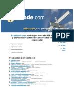 Manual de Intercambios Empresariales Convers 2011