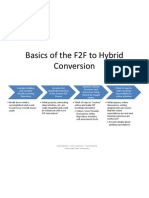 Basics of the F2F to Hybrid Conversion