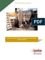 Normas de Competencia del Encofrador con madera en edificaciones