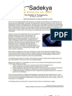 The Paradox of Transparency PDF