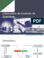 Laboratório de Controle de Qualidade - fARM