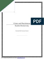 Fyodor Dostoevsky - Crime and Punishment
