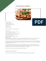 Pizza Barbacoa Aprenda a Prepararla