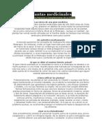 Plantas Medicinales Para Su Salud y Bienestar 2011