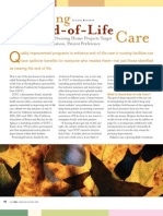 Improving End-of-Life Care