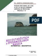 1 BIOESTADÌSTICA E INTRODUCCIÒN A LA EPIDEMIIOLOGIA 03 2012