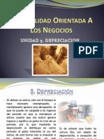 Unidad 5. Depreciocion Contabilidad Orientada a Los Negocios