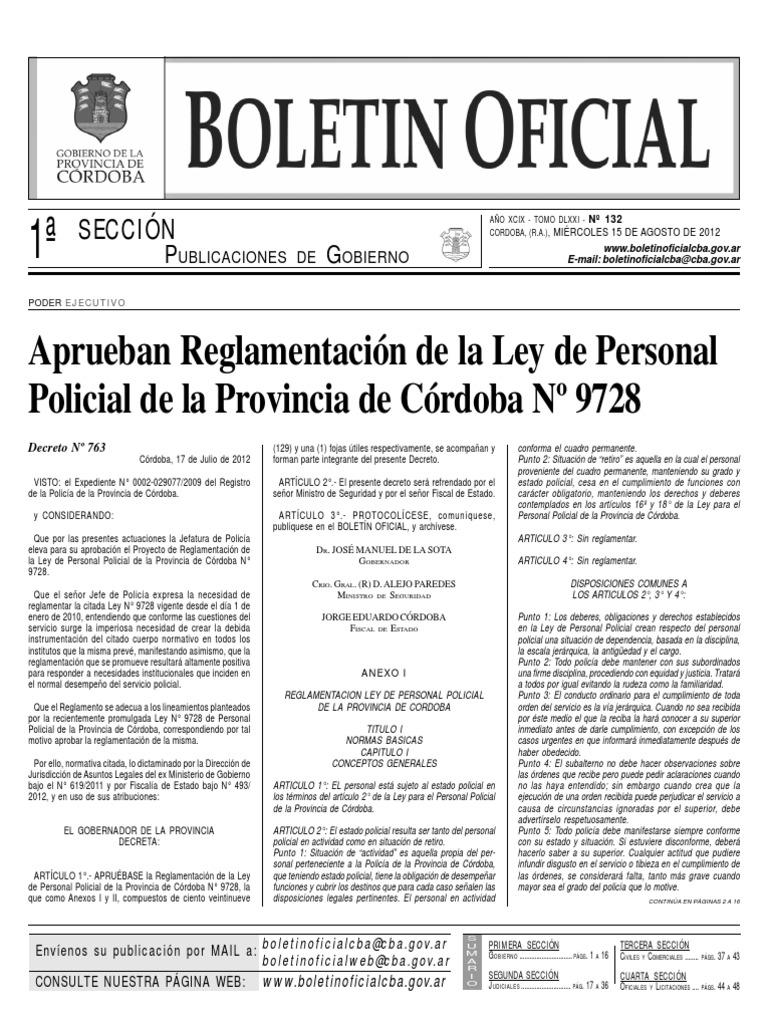 Reglamentacion Ley de Personal Policial d00256bc371
