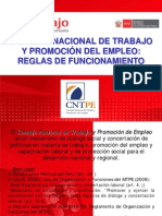 Reglas de Funcionamiento CNTPE