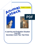 Student's Booklet-Animal Attack