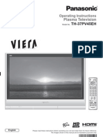 Panasonic TV Manual