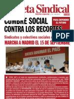 gaceta sindical 15 sept marcha a Madrid