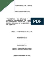 DISEÑO DE LA CUBIERTA DEL EDIFICIO CENTRAL DE LA ESCUELA POLITÉCNICA DEL EJÉRCITO