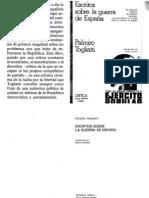 Palmiro Togliatti - Escritos Sobre La Guerra de Espana