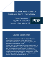 Russian Foreign Policy Hand Out