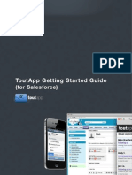 ToutApp Getting Started Guide for Salesforce v2