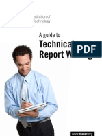 Guide to Technical Writing