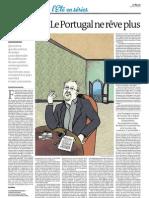 Le Portugal ne rêve plus (dans Le Monde de ce vendredi)