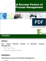 2010 - The Critical Success Factors of Business Process Management