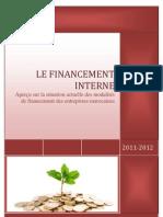 Le Financement Interne