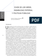 Derechos de los niños, responsabilidad paterna y políticas públicas