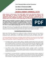 Cease Desist UBS BIS + Evidence 05-14-12