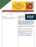 Catalogo NTP