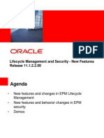 2012 04 - Lifecycle Management and Security Changes