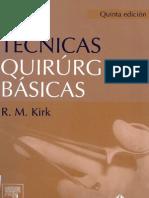 Tecnicas Quirurgicas Basicas Kirk 5 by Kalu