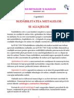 Capitolul 2_Sudabilitatea Metalelor Si Aliajelor