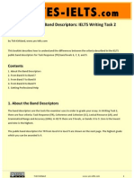 YES-IELTS - Decoding the IELTS Band Descriptors - Writing Task 2 - Task Response - Bands 6, 7, 8, 9