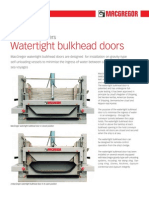 Watertight Bulkhead Doors JUN10 PRINT Original 38901