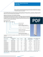 Log Periodic Antennas - LPA-LPD Series
